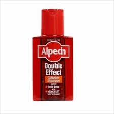 Alpecin Double Effect Caffeine Shampoo 200ml/ Hair loss Rambut Gugur