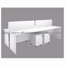 6ft Workstation Partition Design 4 Table OFH18704 meja partition