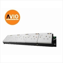 PDU-5GUK 5-gang 19' 19 inch Rack Mount Power Distribution Unit