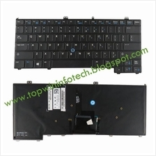 DELL LATITUDE E7440 E7420 E7420D 12 7000 KEYBOARD 1 (with back light)