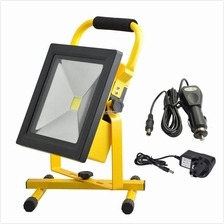 MY Professional 50W LED Rechargeable Portable Flood Light Work Lamp