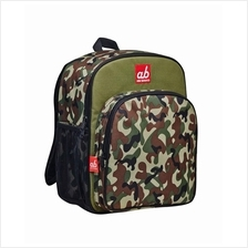 Akarana Toddler Backpack Woodland Half Camo