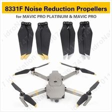 Dji Mavic Pro 8331F 8331 F Noise Reduction Quick Release Propellers