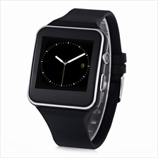 X6 SMARTWATCH WITH SLEEP MONITOR AND PEDOMETER (BLACK)
