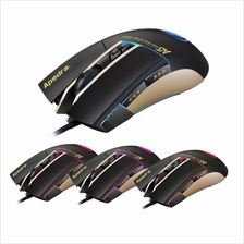 Apedra A5 Wired Gaming Mouse USB Optical Mouse 7 Button Computer Pc Mo