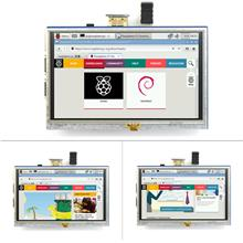 5-inch Resistive Touch Screen LCD Display HDMI for Raspberry Pi XPT204..