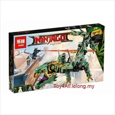 NINJAGO MOVIE GREEN NINJA MECH DRAGON 70612 LEGO COMPATIBLE BRICK