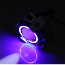 LED Motorcycle Spot Light Driving Headlight Fog Lam High Power 125W U7