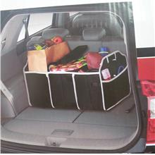 Quality 2-in-1 Car Boot Organiser Shopping Tidy Heavy Duty Foldable St..