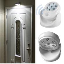 Motion Activated Cordless Sensor LED Light Indoor Outdoor Garden Wall