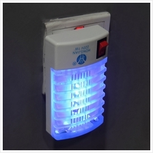 LED Socket Electric Mosquito Fly Bug Insect Trap Night Lamp Killer Zap