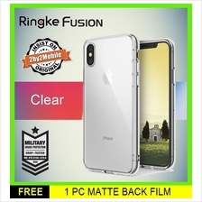 Original Ringke Fusion iPhone X case cover (Clear)
