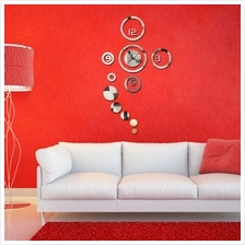 New Arrival Home Decoration Wall Clock Modern Design Stickers Residenc..