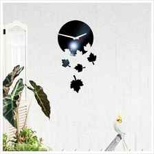 3D Stereo Workable Clocks Removable Wall Decal Sticker Art Mural Home ..