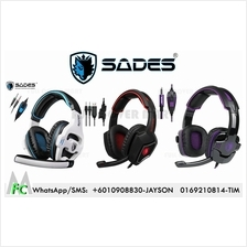 SADES SA-810 Spirit Wolf SA-930 Gaming Headset 3.5mm Wired Stereo PC