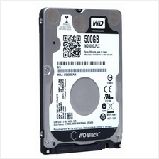 WD Black Western Digital 500GB 2.5' in Sata Internal HDD 7200 RPM 32MB