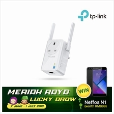 TP-LINK Wi-Fi Range Extender w/ 3-pin Passthrough, TL-WA860RE
