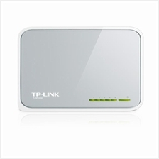 TP-LINK TL-SF1005D - 5-Port 10/100Mbps Desktop Switch, RJ45 Ports
