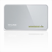 TP-LINK TL-SF1008D - 5-Port 10/100Mbps Desktop Switch, RJ45 Ports