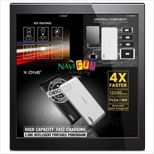 ★ X-One Q12 Quick Charge 3.0 12000mAh Dual Port Powerbank