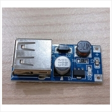 DC step up 0.9~5V to 5V, AA battery to USB charger module