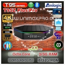 T95Z PLUS S912 Octa Core Android 7 2GB 3GB RAM 16GB 32GB ROM TV Box