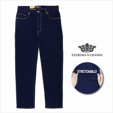 EXTREMA BIG SIZE Stretchable Navy Jeans EXJ6035