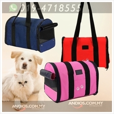Pet Travel Cage Carrier Bag Dog Cat Rabbit Foldable Portable Carry Han