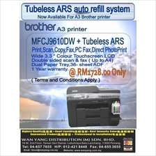 MFC J6910DW NEW BROTHER A3 Inkjet PRINTER +Tubeless ARS