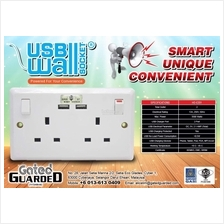 2.1A USB WALL SOCKET