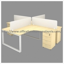 6ft x 5ft 4 Seater Workstation Set OFTS1815 Saujana Utama Sungai Besi