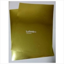 A4 Glossy Gold Label Sticker Paper for Inkjet Printer (25 SHEETS)
