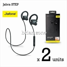 2 Units Jabra STEP Wireless Headset with Bluetooth stereo (2 Years War
