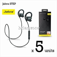 5 Units Jabra STEP Wireless Headset with Bluetooth stereo (2 Years War