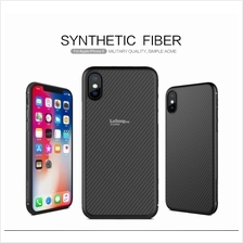 Nillkin Synthetic Fiber Slim Cover Case iPhone X 8 Plus