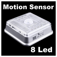 8Led 8 Led  Corridor Auto PIR Automatic Motion Sensor Led Light Bulb
