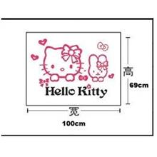 Hello Kitty n Friend 3D Acrylic Wall Sticker
