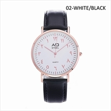 AD STEEL Hijra Anticlockwise Men Watch Jawi Dial Jam Tawaf (ADTF3070LR