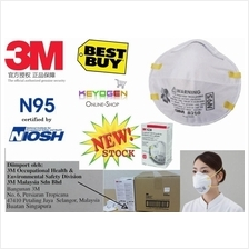 Promotion!20 pcs 3M™ N95 8210 Disposable Respirator mask Topeng Jerebu