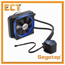 Segotep Wc Halo 120-BL Blue LED 120MM Liquid Water CPU Cooling Heat Si