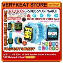 Q730 Q730S Kids 3G GPS Tracker Smart Watch with SOS Button Anti Lost