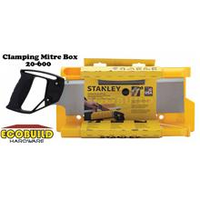 STANLEY Clamping Mitre Box with 14 in Saw