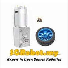 Sumo Robot 12V/24V 260rpm A58SW-555 Worm Gear High Torque DC Motor Set