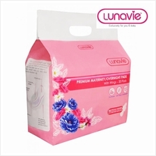 Lunavie Premium Maternity / Overnight 36cm Pads with Wings 20-Piece