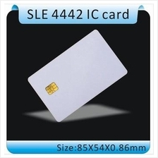PVC FM4442 Chip Contact Blank Smart IC Card