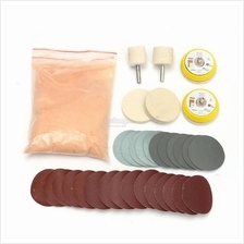 39pcs Glass Polishing Kit 8OZ 230g Cerium Oxide Powder with Polishing