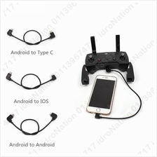 DJI Mavic Pro Air Spark Remote Control Cables Android iPhone Micro USB