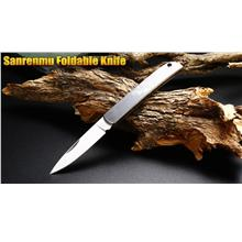 Sanrenmu 7065 RUC-SA Stainless Steel Folding Knife/Knives