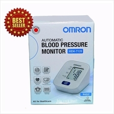 Omron HEM-7120 Automatic Blood Pressure Monitor 3 Year Warranty