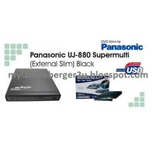 New Panasonic External Slim Portable DVDRW Optical Disk Drive UJ-880